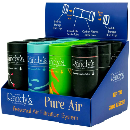 RANDY'S PURE AIR FILTER ( ASSORTED DISPLAY OF 12 )