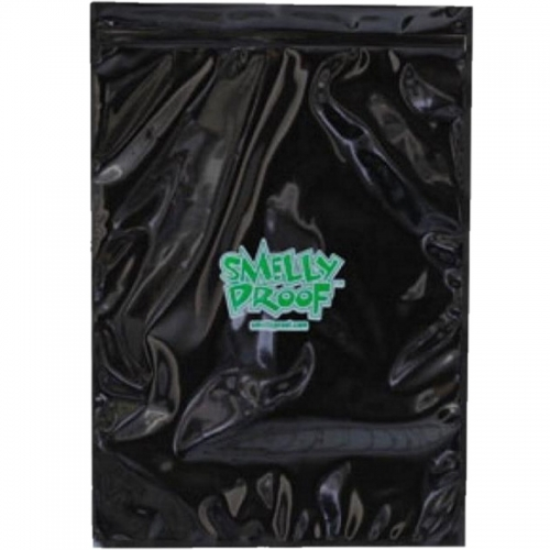 (5X) BLACK SMELLYPROOF BAGGIES XL 16*12''