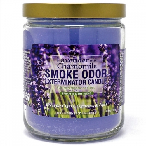 CANDLE JAR LAVENDER AND CHAMOMILE 13OZ