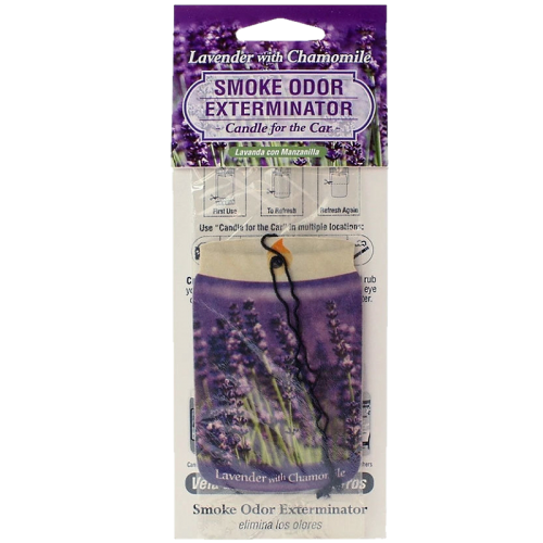 CANDLE FOR THE CAR LAVENDER CHAMOMILE