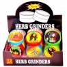Metal grinder with acrylic cover 50 mm dia