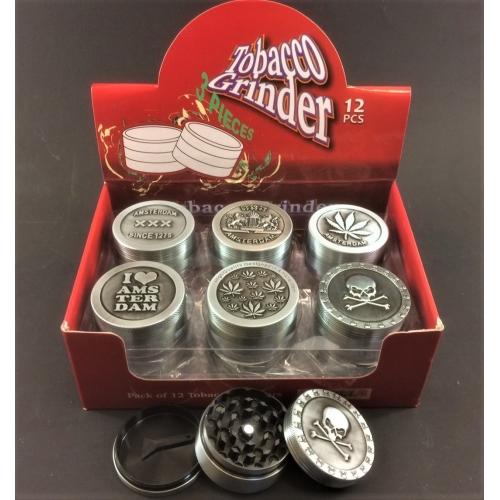 Metal grinder 3-Parts