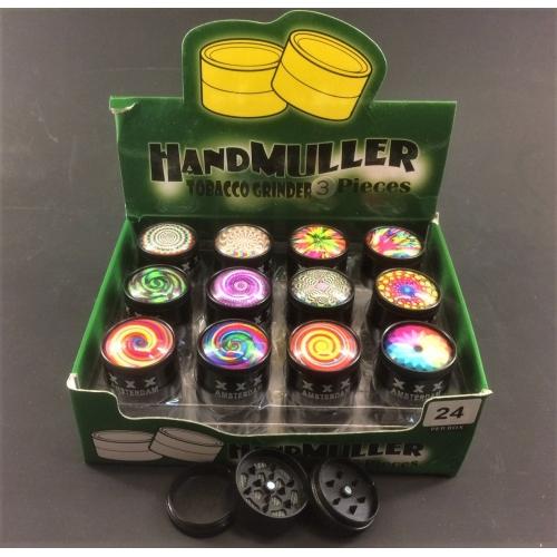 Metal mini grinder 3-layers 30mm