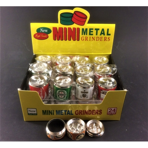 Small Can grinder 3 layers 30mm dia