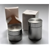 Meds Air-tight metal storage container