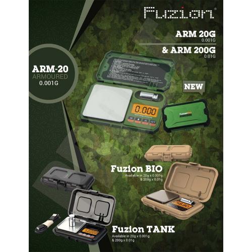 Fuzion TANK T-200 Scale 0.01g