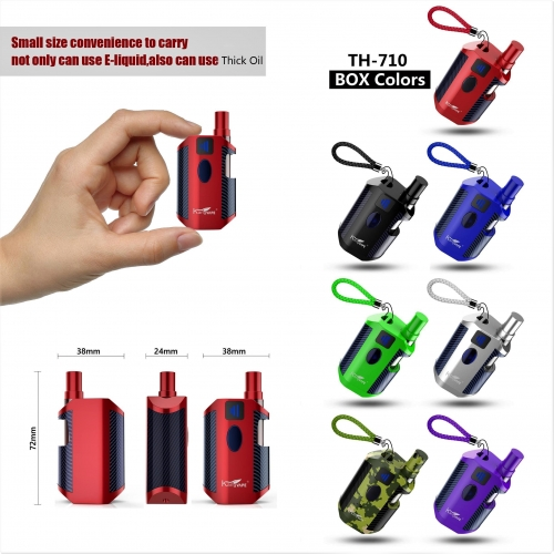 Kangvape TH-710 Box Mod Kit E Cigarettes 650mAh