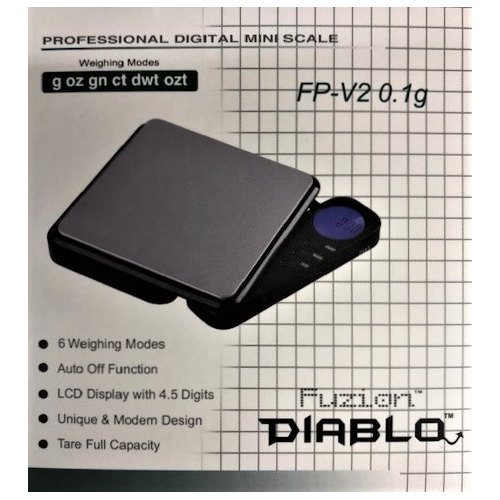 BALANCE FP-V2-1000G/0.1G FUZION DIABLO