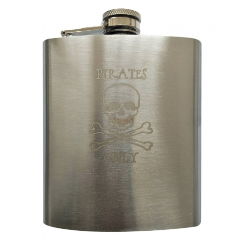 Flask squelette 7oz