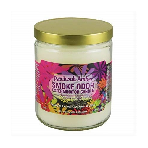 CANDLE JAR PATCHOULI AMBER 13OZ