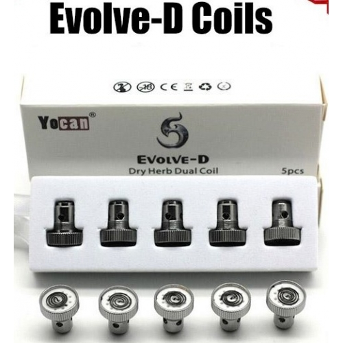 YOCAN EVOLVE DRY COIL PACK 5x