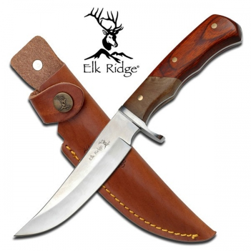 "Elk Ridge FIXED BLADE KNIFE 9.5"" OVERALL"