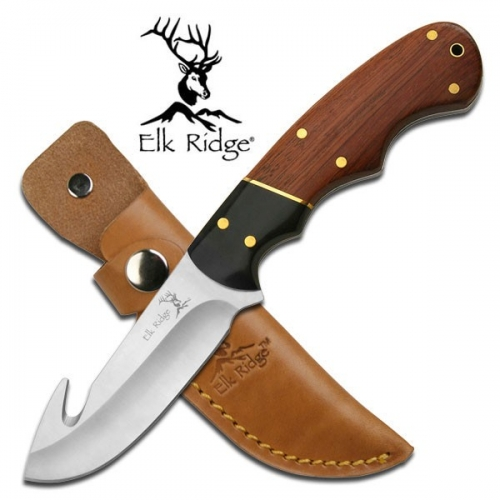 "Elk Ridge OUTDOOR FIXED BLADE KNIFE 7.5"" OVERALL"