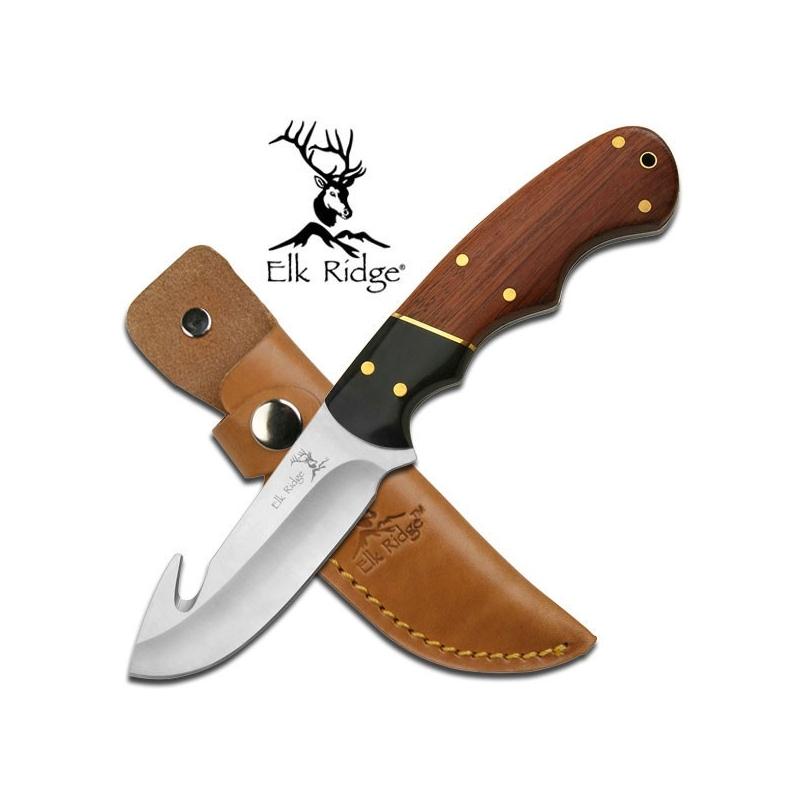 """Elk Ridge OUTDOOR FIXED BLADE KNIFE 7.5"""" OVERALL"""