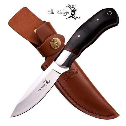 ELK RIDGE FIXED BLADE KNIFE 8.25'' OVERALL