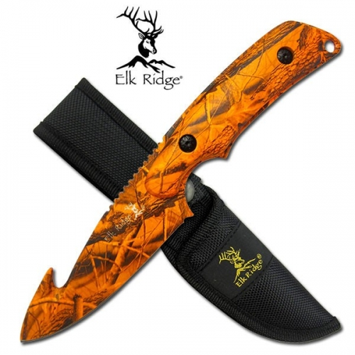 "Elk Ridge SURVIVAL KNIFE 8"" OVERALL"