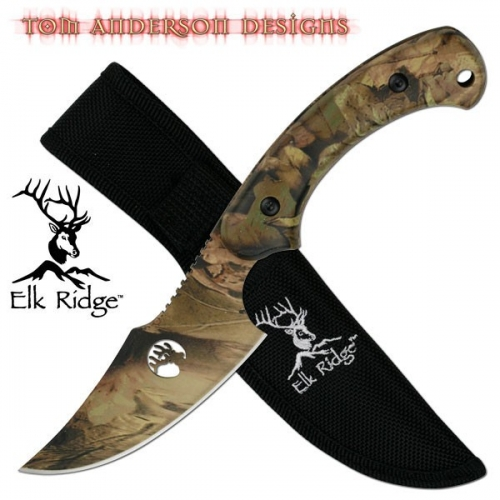 "FIXED BLADE KNIFE 8"" OVERALL"