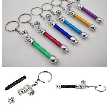 Keychain Metal Pipe