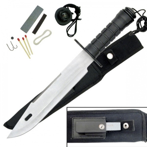 "SURVIVAL KNIFE 15"" OVERALL"
