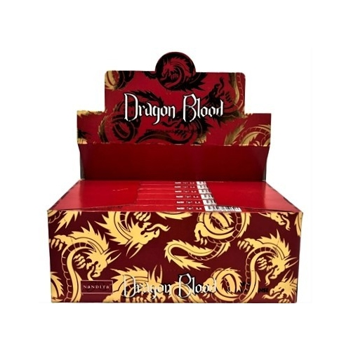 Nandita Dragon Blood Incense Sticks 15gms - 12 Packs
