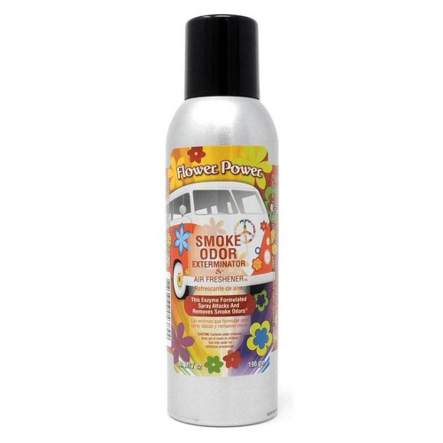 AIR FRESHENER SPRAY FLOWER POWER 7OZ
