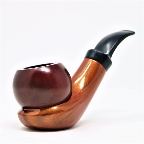 TWO PARTS WOOD PIPE