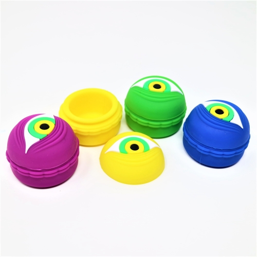 15ml shimmer container 45*35mm silicone