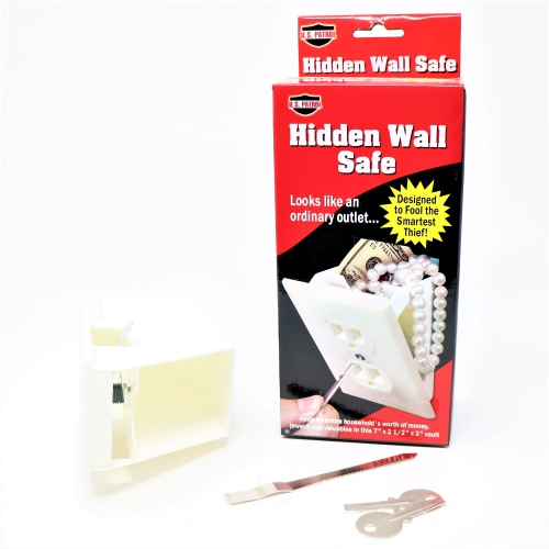 stash safe wall plug