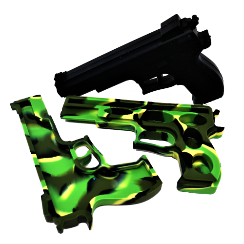 Gun silicone container