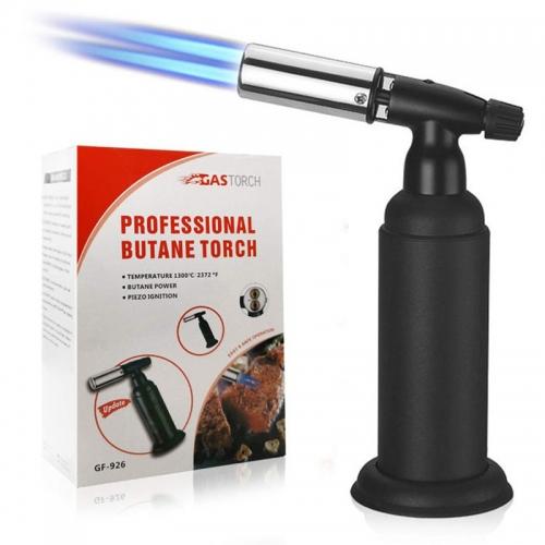 Butane Torch black DOUBLE FLAMME