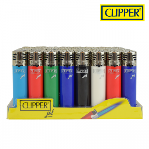 (48x) Clipper Lighters JET FLAME