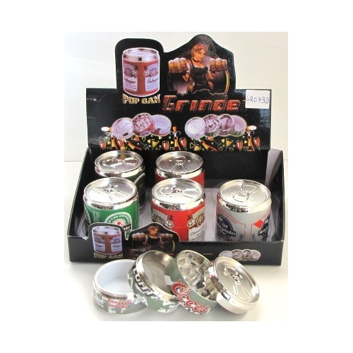 Large Can grinder 4 Layers 50mm